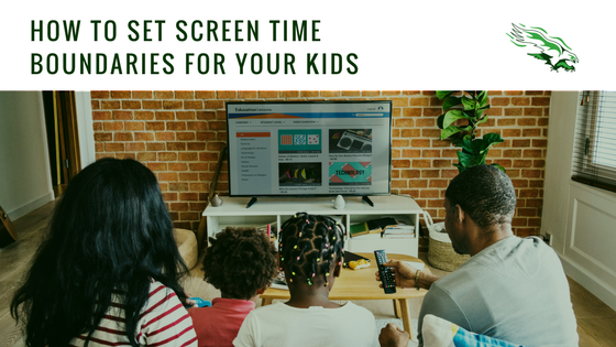 How to set screen time boundaries for your kids