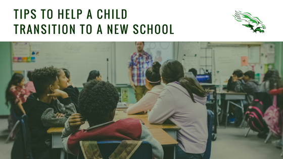 Tips to help a child transition to a new school