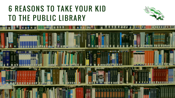 6 reasons to take your kid to the public library