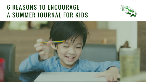 6 reasons to encourage a summer journal for kids