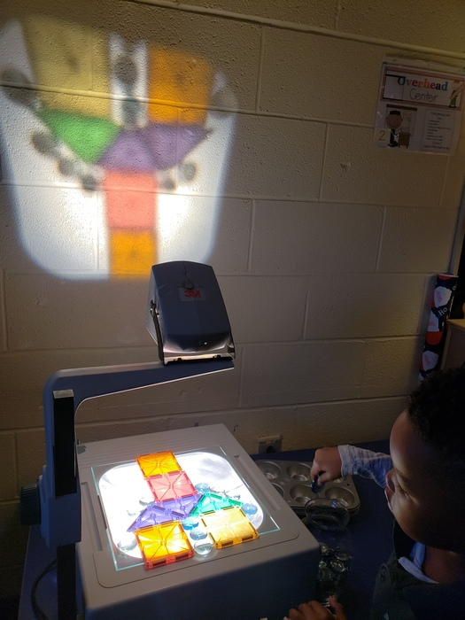 Child overhead projector